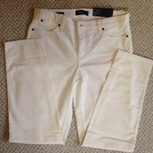 TALBOTS - Flawless Slim Ankle Corduroy Jeans - NWT